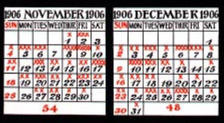 workplace injury death calendar